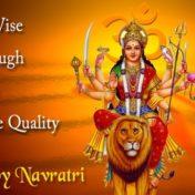 Happy Navratri Maa Durga Whatsapp Status & Messages