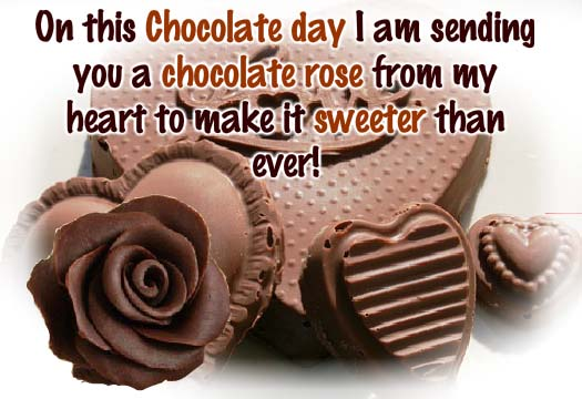 Happy Chocolate Day Whatsapp Status and Messages Love FB Status Whatsapp Lovers