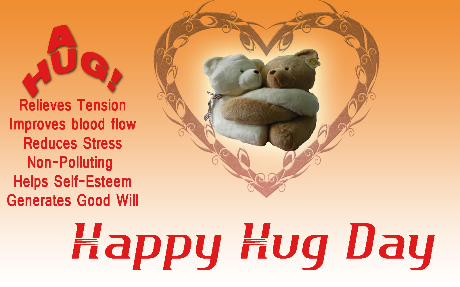 Happy Hug day Whatsapp Status, Messages & Facebook Status – Whatsapp Lover
