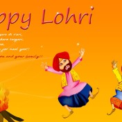Happy Lohri Whatsapp Status & Messages 2016