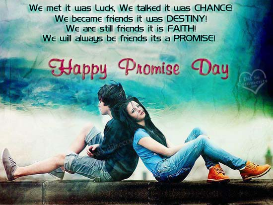 Happy Promise Day Status & Messages for Whatsapp and Facebook
