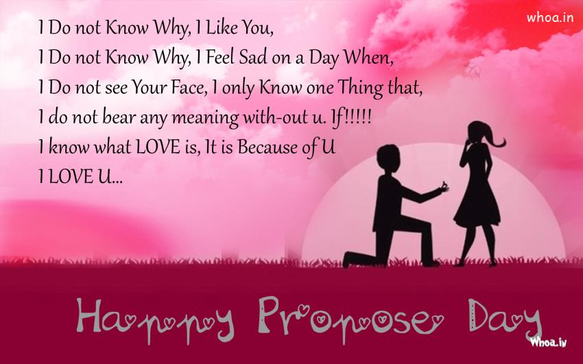 Sad Quotes For Propose Day: Beautiful proposing quotes to make ...