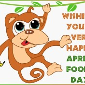 April Fools wishes
