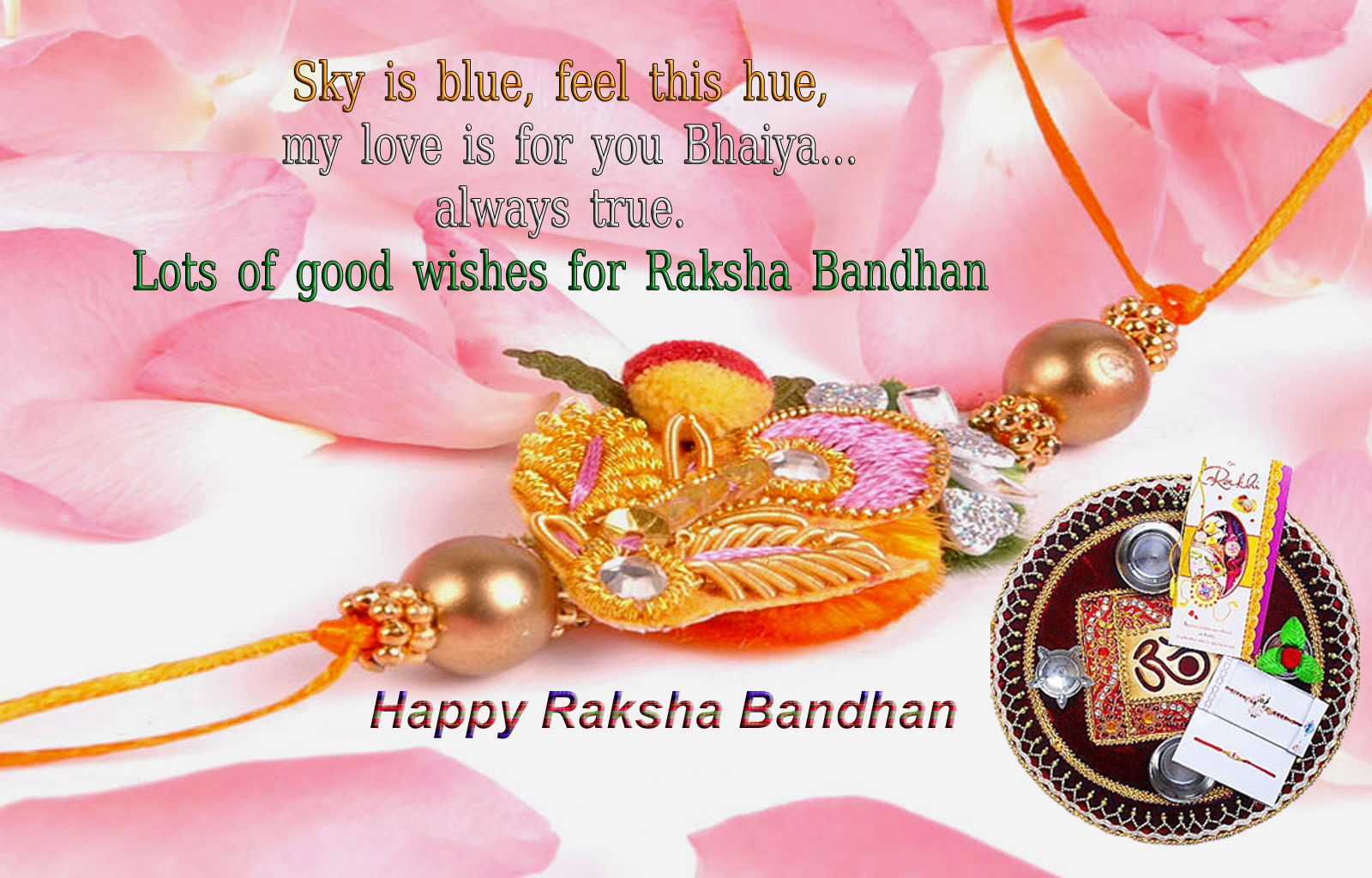 Happy Raksha Bandhan HD Images, Wallpapers for Whatsapp DP