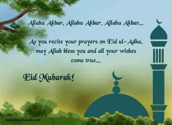 Bakra Eid ul Adha mubarak Whatsapp Status & Messages