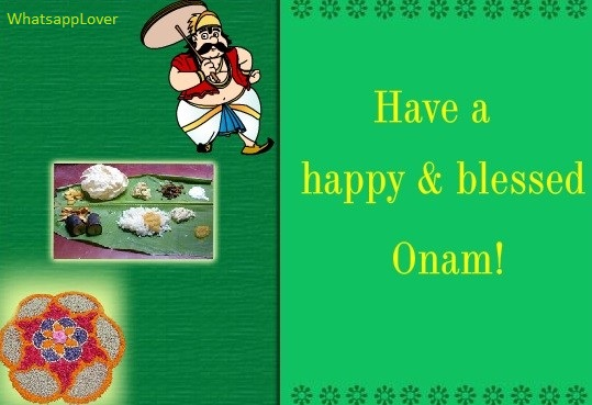 Happy Onam Images for Whatsapp DP, Profile Wallpapers