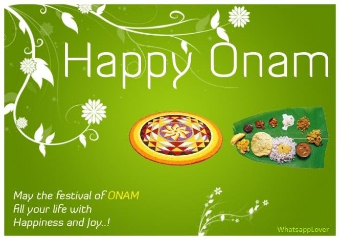 Happy Onam Whatsapp Status & Messages