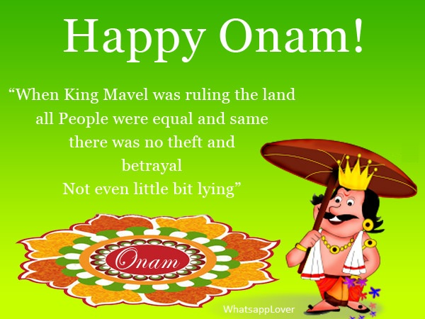 Happy Onam Whatsapp Status & Messages