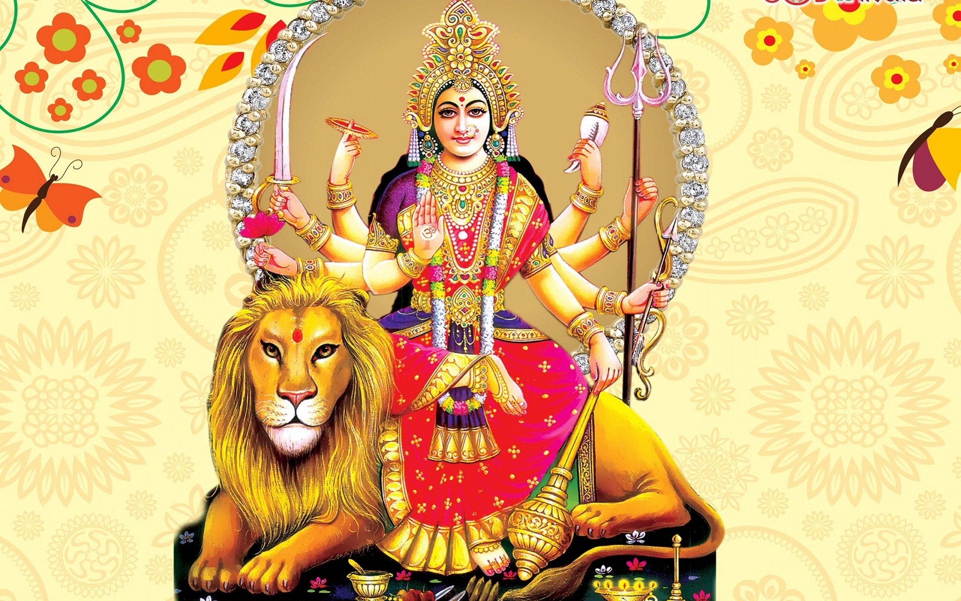 Wallpaper download mata rani - Download Maa Durga Image Whatsapp Profile Wallpaper