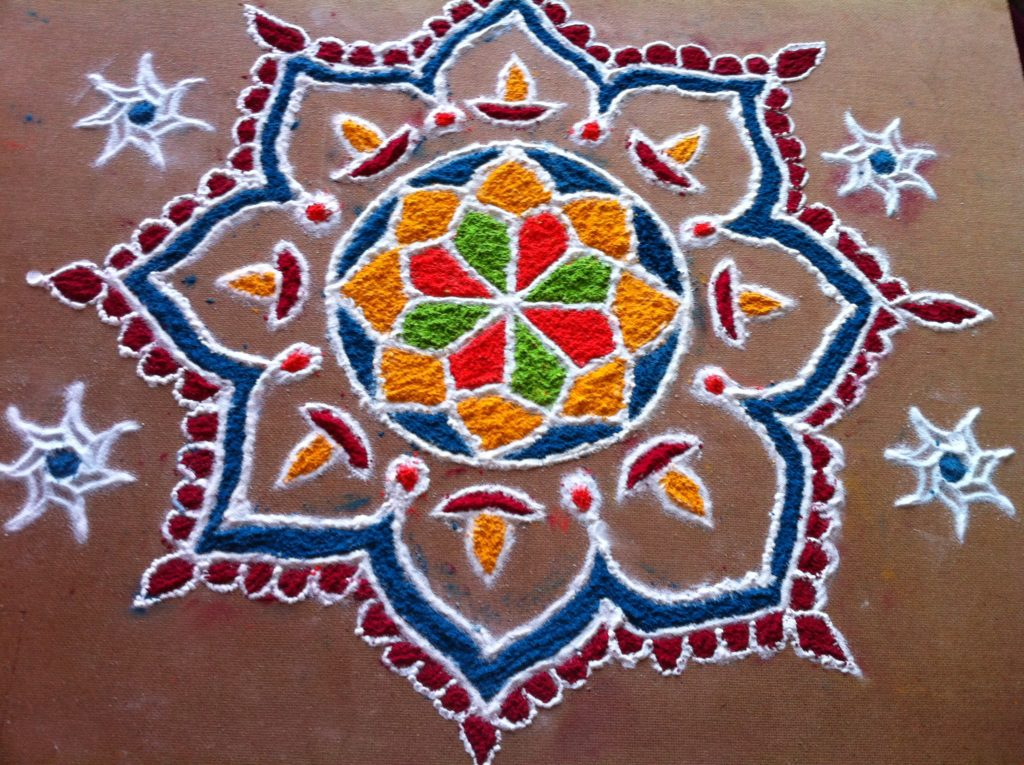 Best Rangoli Designs for Diwali 2018 | Free Hand Rangoli ...