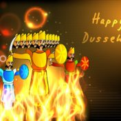Vijayadashami Dussehra Images for whatsapp DP profile, HD wallpapers