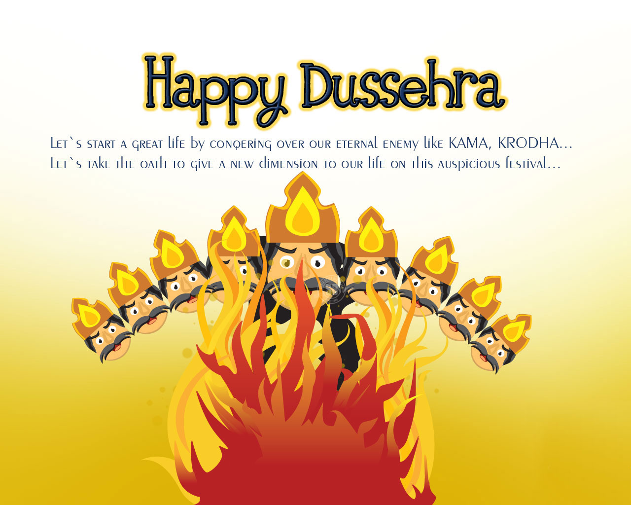 Vijayadashami Dussehra Status for Whatsapp and Messages for Facebook
