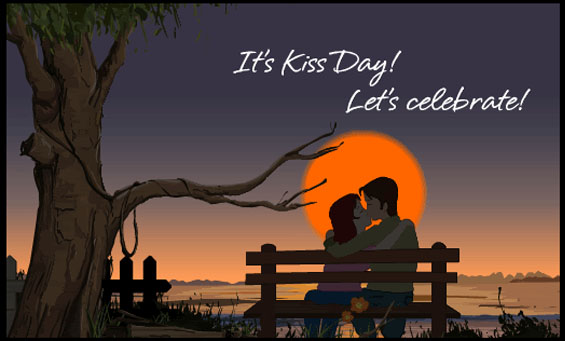 Kiss Day Images for Whatsapp DP, Profile Wallpapers – Free Download