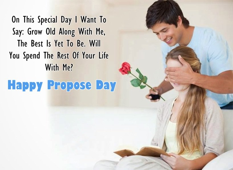 Propose day images for whatsapp dp profile wallpapers - Boy propose girl with rose image ...