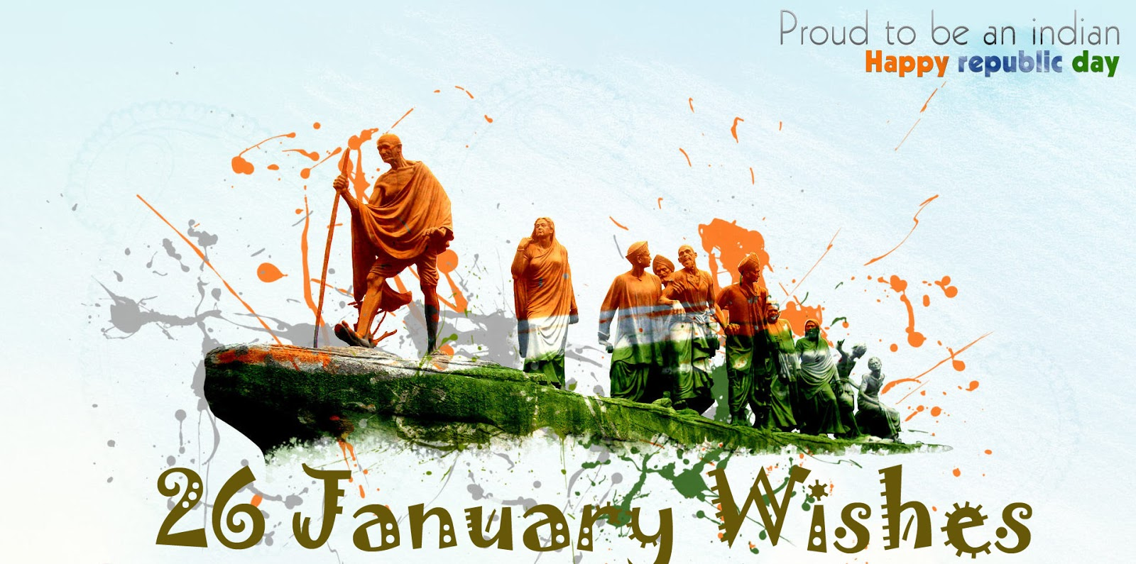 Republic Day Images for Whatsapp DP, Profile Wallpapers