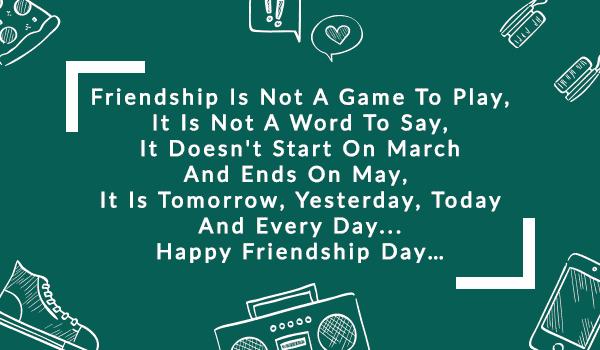 Friendship Day WhatsApp Messages