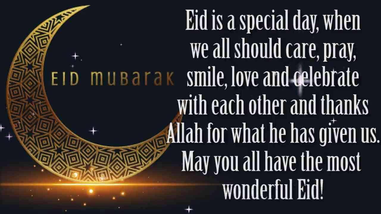 Eid Mubarak WhatsApp Status Images Messages